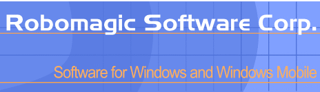 Robomagic software for windows